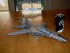 "USA, F-14 TOMCAT FIGHTER PLANE (USS CONSTELLATION) DIECAST METAL TOY -16"" LENGTH"