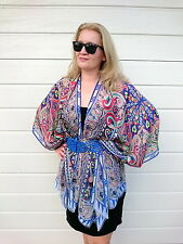 2a39e47471b item 4 Womens Silk Kimono Robe Blouse Coat Cardigan Jacket Beach Cover Up  Tops 8-30 NEW -Womens Silk Kimono Robe Blouse Coat Cardigan Jacket Beach  Cover Up ...