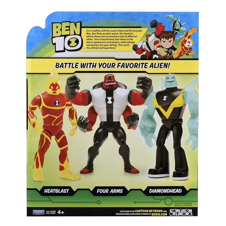 Ben 10 Giant 10in Heatblast Action Figure For Sale Online Ebay
