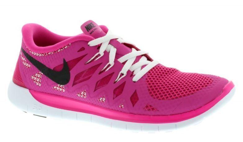 Nike Free 5.0 602 (GS); Gr. 37,5 hot pink/schwarz/Weiß 644446 602 5.0 8fa295