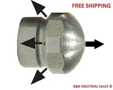 """1/8"""" Laser Sewer Cleaning Jetter Nozzle #4.0 FREE SAME DAY SHIPPING - BEST PRICE"""