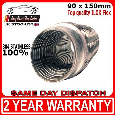57mm x 150mm ILOK Universal Exhaust Replacement and Repair Flexi Joint