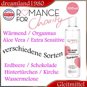 Gleitmittel Premium Romance Gleitgel Schokolade Wassermelone Aqua Anal Orgasmus