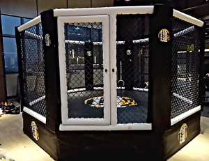 15'x15' Commercial Boxing Ring MMA Cage UFC Octagon  Pro Wrestling Mat 196 sq ft  up to 60% discount