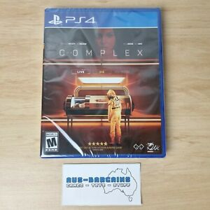 Complex - NEW + Sealed - PS4 PlayStation 4 Limited Run LRG #389 LR-P270 FMV