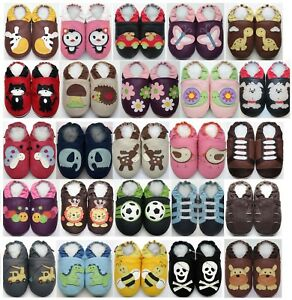 3-4-Toddler-US-11-12-Minishoezoo-Slippers-soft-sole-Leather-baby-Boy-Girl-Shoes