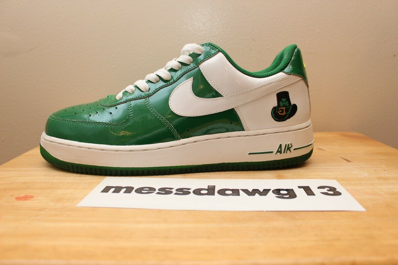 Nike Air Force 1 (AF1) Low Premium  ST. Patrick's Day  size 10.5 - 2006