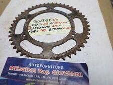 Corona dentata di trasmissione a catena per moto d'epoca vintage Moto Guzzi Guzz