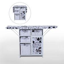 Ironing Board Shelving Unit Storage Rack Folding Basket Shelves