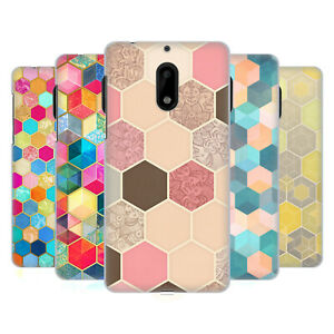 3000f9e8d14f Details about OFFICIAL MICKLYN LE FEUVRE HEXAGON PATTERNS HARD BACK CASE  FOR NOKIA PHONES 1
