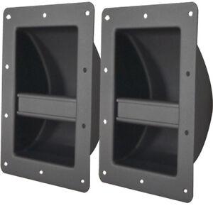 metal bar handles lot of 4 for pa dj guitar bass guitar speaker cabinets ebay. Black Bedroom Furniture Sets. Home Design Ideas