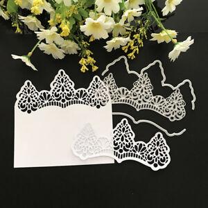 lace Design Metal Cutting Dies For DIY Scrapbooking Card Paper Album A  JM