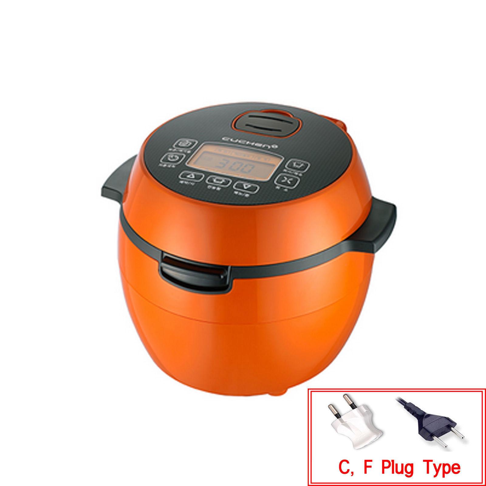 Cuchen CJE-A0302 Corée économie électrique Cuiseur à riz pour 3 Personne Orange