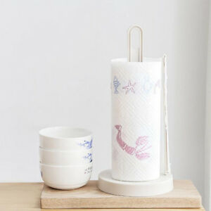 Paper Towel Holder Shelf Napkin Roll