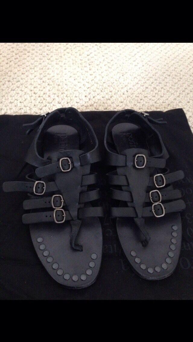Aith. Pedro Garcia  Gladiador    Leather Flat Sandals 36 6-US MINT ab04ca
