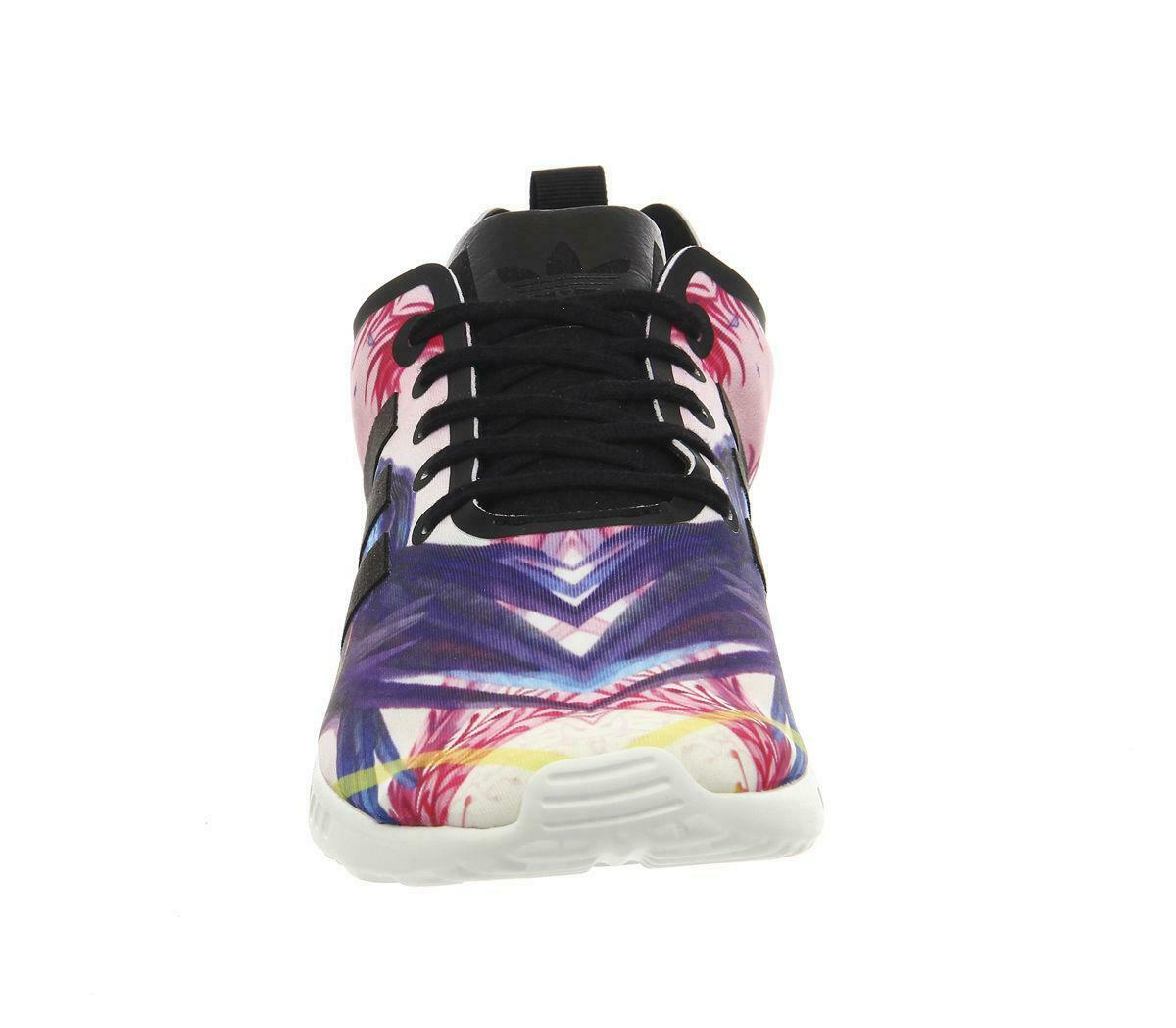 f504f117a adidas ZX Flux Smooth W Women s SNEAKERS Black S82937 Leisure Trainers US 9  for sale online