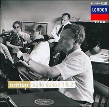 BRITTEN: CELLO SUITES 1 & 2 (NEW CD)