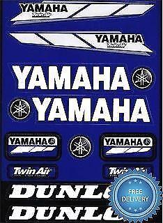 4MX Sticker Decal Yamaha Logo Twin Air Dunlop fits YBR 125 05