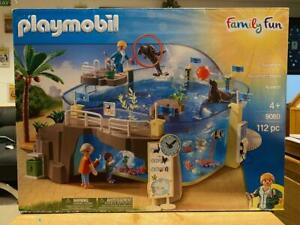 Playmobil-Family-Fun-Aquarium-Playset-9060-112-Pcs-New-in-Sealed-Box
