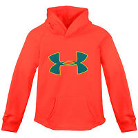 Under Armour Ua Girls Rival Hoodie 1264234-877 After Burn Kids Hoody Youth Sz S on sale