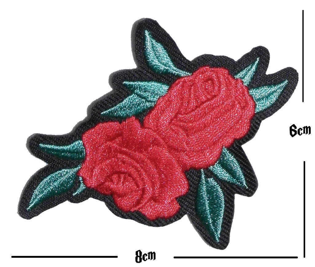 Sew on Embroidered Patch Motif Craft Fix Mend Cover Kids Westie Dog Iron