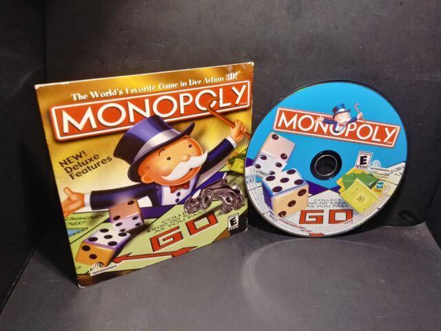 Monopoly 3D 2001 PC CD ROM Windows B297