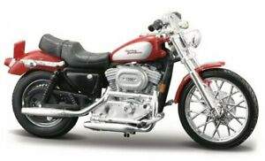 HARLEY-DAVIDSON XL 1200C Sportster - 2002 - red - Maisto 1:24
