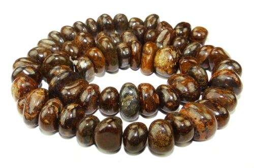 9-12 x 6-8 mm gemstone-beads Cord bron-3 Bronzite Rounded Nuggets approx