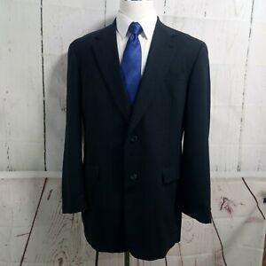 Austin Reed Dillard's 42L 2 Button Men's Blue Plaid Suit Blazer Sports Coat