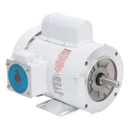 L,CWSE LEESON 112526.00 Washdown Motor,1//3 HP,10-3//8 in