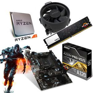PC-Aufruest-Kit-Bundle-AMD-Ryzen-3-1200-4x-3-4GHz-MSI-A320M-PRO-VD-S-8GB-DDR4