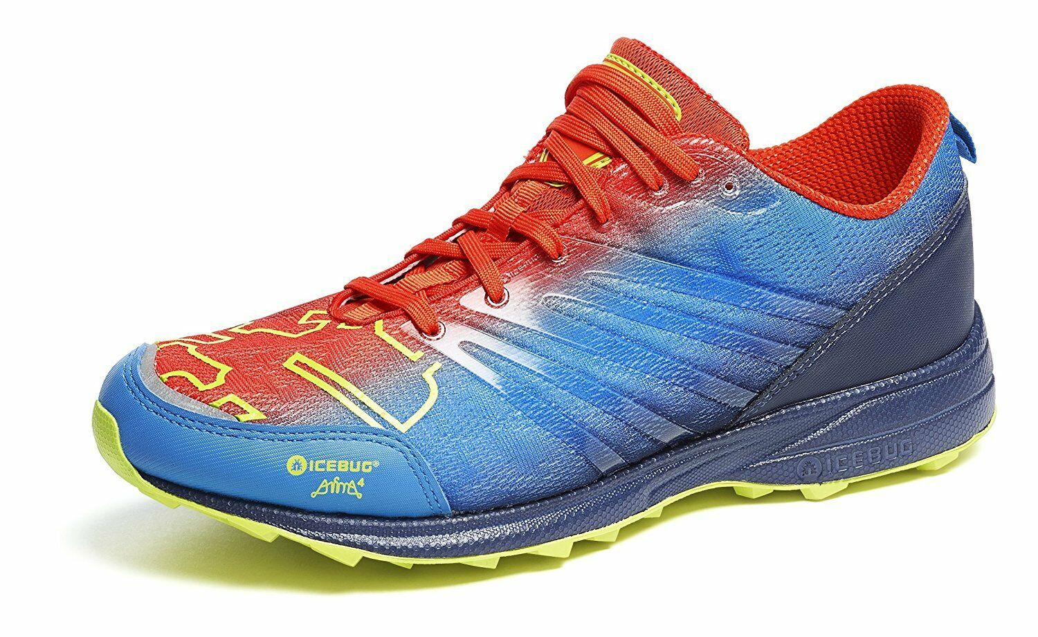 designer fashion f73ad 9a833 Icebug Men s Anima3 RB9X RB9X RB9X OCR Traction Running Shoe Grey Marigold  11. D