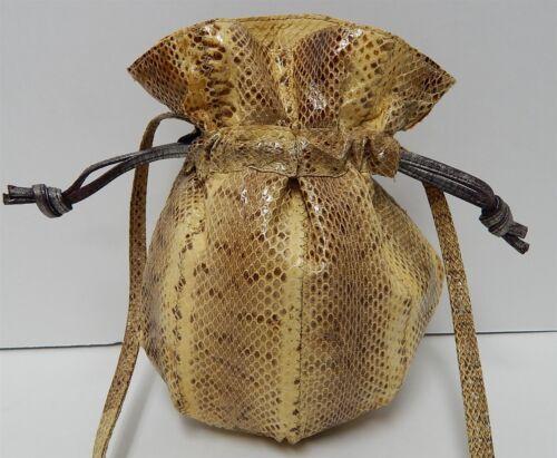 cordón bandolera de con serpiente genuina piel Bolso de bandolera 4w6tnqFxZ