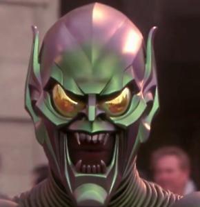 Green Goblin Helmet - Model Kit - William Dafoe 2002 Spider-Man Movie