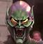 thumbnail 1 - Green Goblin Helmet - Model Kit - William Dafoe 2002 Spider-Man Movie
