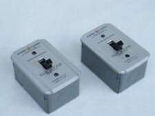 Pair Of Vintage Ge Motor Starting Switch Model Cr1061h1a1