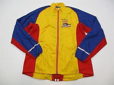 LESLIE JORDAN Men/'s Size M Yellow Gasparilla Florida 2015 Track Jacket