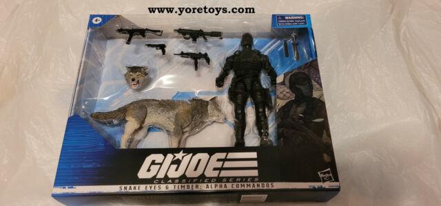 2021 GI Joe Classified Series Snake Eyes & Timber: Alpha Commandos MISB RARE