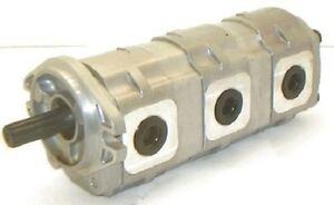 Yanmar-YB201-Excavator-Triple-Hydraulic-Pump-19020-07800