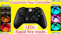 Mod Service - Xbox One Wireless Controller With Leds And/or Mods/rapid Fire