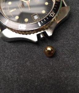 980.024 Gold Divers 980.021 980.022 Vintage Heuer Monnin 1000 Inventive New Crown