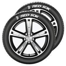 Boston Red Sox MLB Team Logo Graphics Set of Two Tire Tatz Sidewall Decals