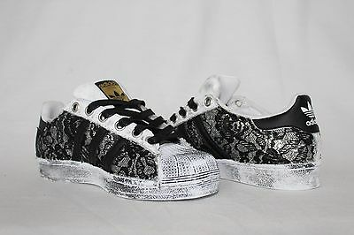 adidas superstar dentelle