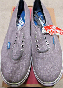 b3a2b806ee New Vans Authentic Lo Pro Womens Size 8.5 and 9.0 Gray Suede ...
