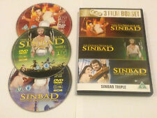 Sinbad And The Eye Of The Tiger/The 7th Voyage/The Golden Voyage - DVD Rare OOP!
