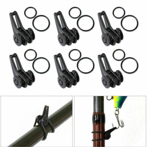 Fishing Rod Tackle Hook Holder for Lures Rod Hook Keeper C2U4 X7J0