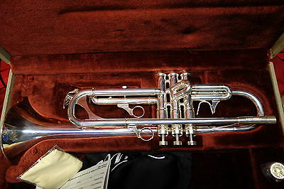 Phaeton PHT-XP50 Bright Silver Plated Semi Professional Trumpet Demo Model