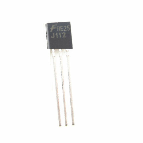 50 PCS J112 FSC TO92 N–Channel JFET Transistor NEW TO-2 S8 BEST PRICE S