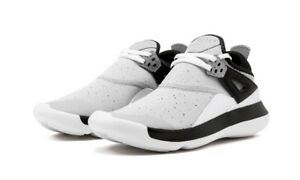 b7d08f7b9cee2 Nike Jordan Fly 89 BG Basketball Kids Youth Shoes Sneakers Wolf Grey ...