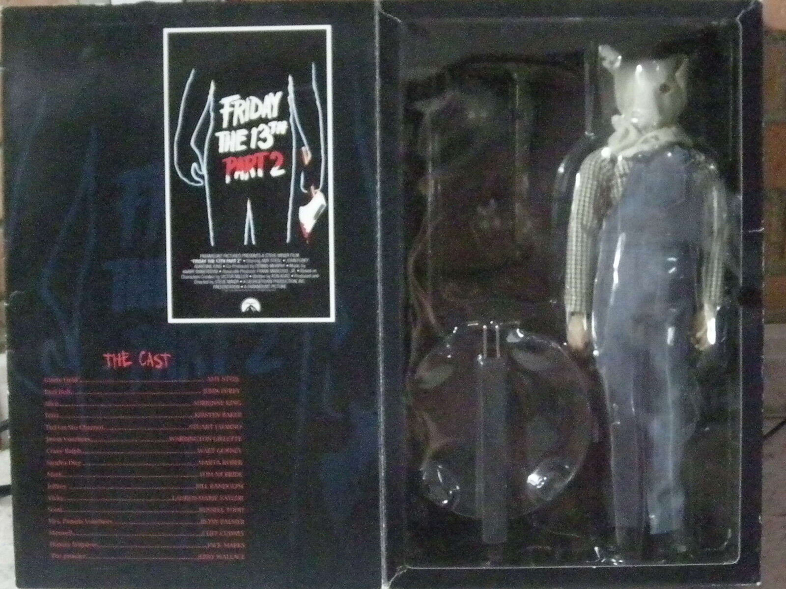 FIGURA FRIDAY THE 13TH VIERNES 13 PART 2 JASON VOORHEES FIGURE USADA BUEN ESTADO